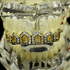 Gold CZ 6 Open Face Top Teeth Grillz