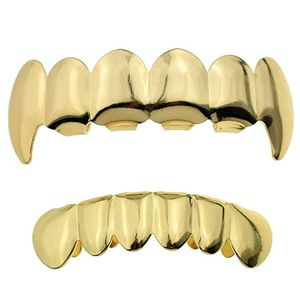 Cartel Gold Vampire Grillz Set