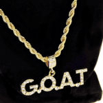G.O.A.T Gold Rope Chain 24""