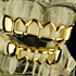 Gold Grillz 4 Full Open Face Set