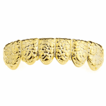 Gold Nugget Lower Grillz