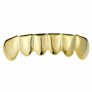 14K Gold Plated 925 Bottom Teeth Grillz