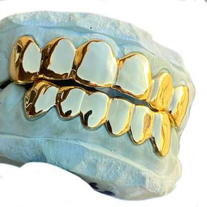 14K Gold Plated over 925 Silver Custom Grillz