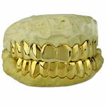 Gold Plated 925 Custom Grillz
