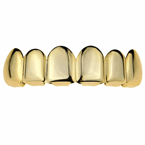 Gold Plated 925 Silver Top Grillz