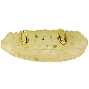 Gold Plated Open K9 Custom Grillz