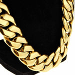 25MM Stainless Steel Gold Chain