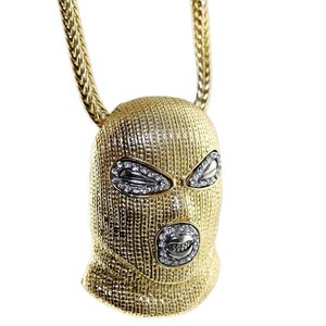 "Gold Masked Goon 36"" Franco Chain"