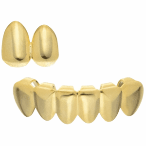 Double Top & 6 Bottom Grillz Set