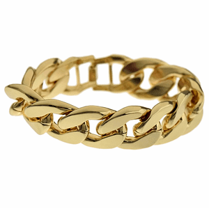 20MM Alloy Cuban Bracelet 8.5""