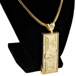 "100 Dollar Gold 24"" Franco Chain"