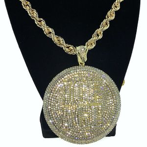 "Ice Age Medallion 36"" Rope Chain"