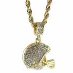 Football Helmet Rope Chain