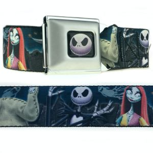 Nightmare Before Christmas Cemetery Scene Belt