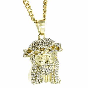 "30"" Cuban Chain Jesus Piece"