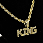 "King 24"" Gold Rope Chain"