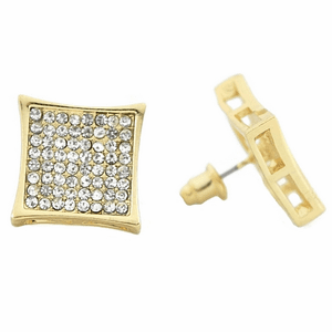 Kite Earrings Gold 15mm Earrings