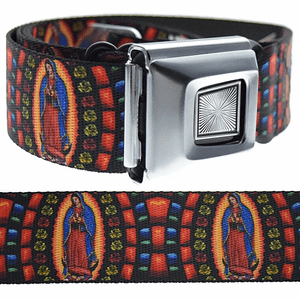 Virgin Mary Belt Buckle-Down