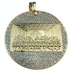 Last Supper Flat Medallion Pendant