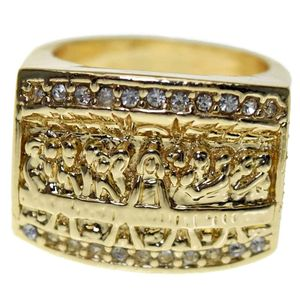 The Last Supper Gold Bling Ring