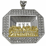 Last Supper Oct Charm Silver/Gold