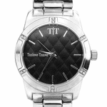 Modern Men's Tone Silver Watch