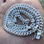 "925 Silver 20"" Miami Cuban Chain (45g)"