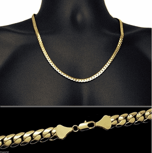 "Miami Cuban Gold Chain 24""  6MM"