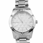 Modern Men's Pearl White Watch