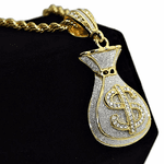 Money Bag Rope Chain 30""