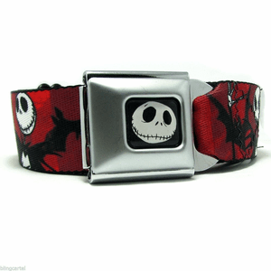 Nightmare Before Xmas Red Belt