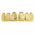Gold Top Teeth Nugget Grillz
