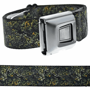 Nuggets Stacked Buckle Down-Belt