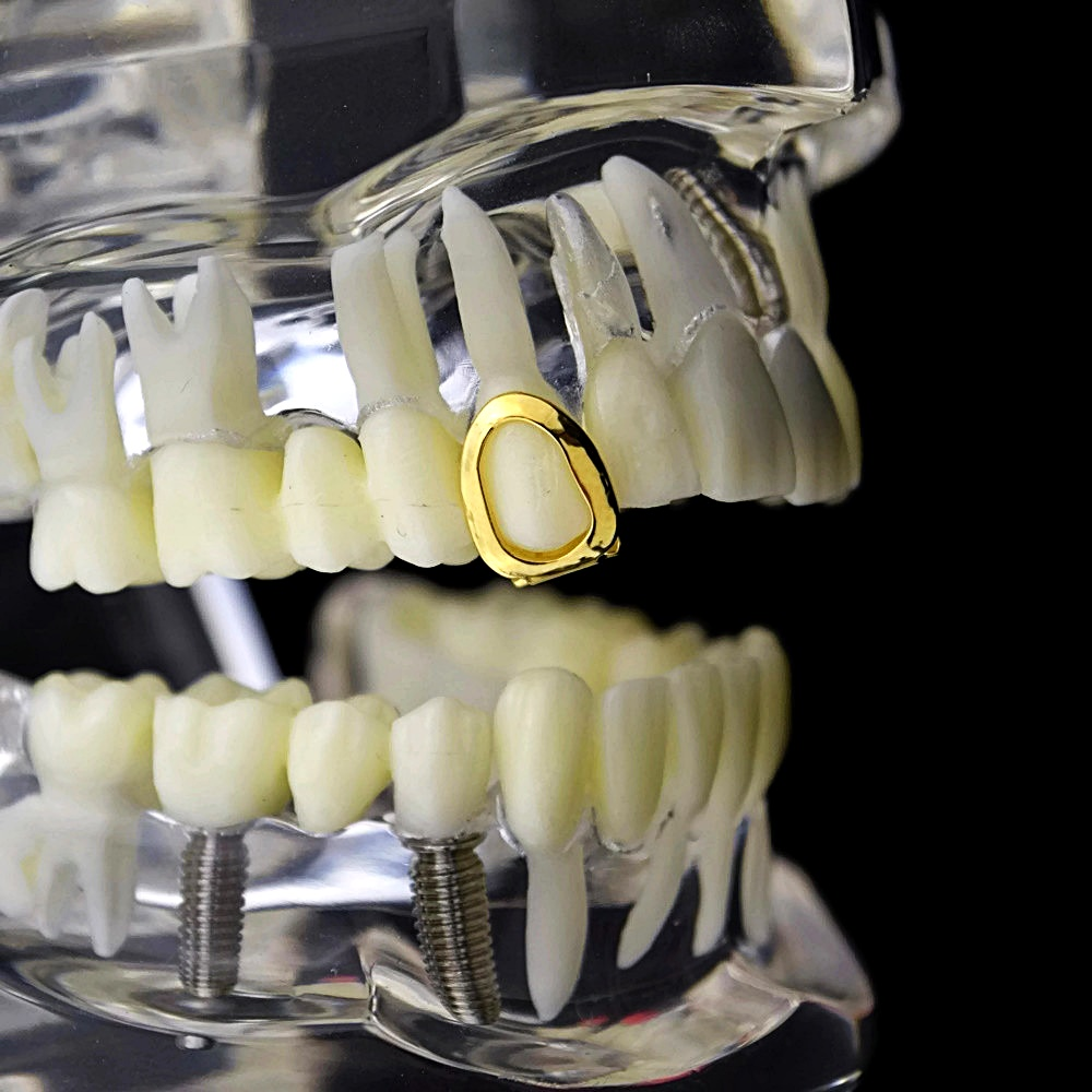 Gold Open Single Top Tooth c9f9ebe96014