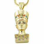 "Queen Nefertiti 36"" Franco Chain"