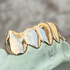Real 10K Gold Vampire Fangs Custom Grillz