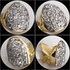 Real Diamonds 10K Gold Single Cap (Choose Any Tooth)