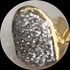 Real Diamonds 14K Gold Single Cap (Choose Any Tooth)