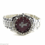 Red Face Hip Hop Cross Watch