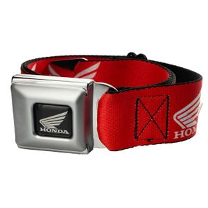 Honda Cycle Wing Red Belt