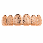 Rose Gold Nugget Top Grillz