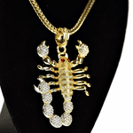 "Scorpion Gold 36"" Franco Chain"