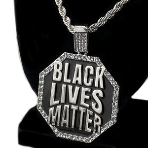 """Silver BLM Octagon Rope Chain 30"""""""