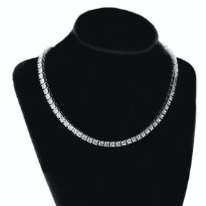 "One Row Silver 16"" Tennis Chain 5MM"
