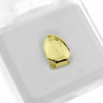 14k Gold Plated Plain Top Tooth Cap