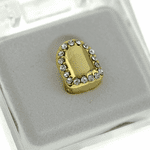 Gold Shield Single Top Tooth Cap