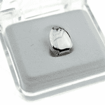 Silver Plain Single Tooth