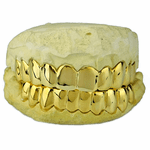 10K Solid Gold Custom Grillz