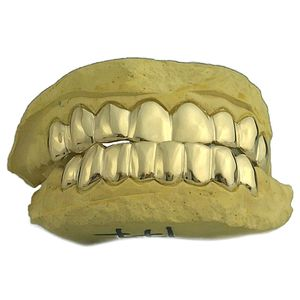 Real Solid 10K Gold Teeth Custom Grillz