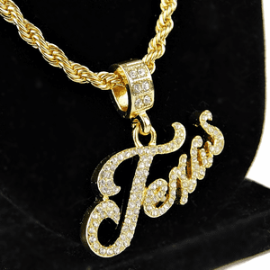 "Texas 24"" Gold Rope Chain"